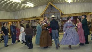 Barn dance in Breaking Up Christmas tradition 2011